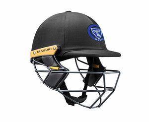 Masuri Original Series MK2 SENIOR Test Helmet with Steel Grille - Melbourne University CC