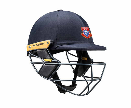 Masuri Original Series MK2 SENIOR Test Helmet with Steel Grille - Bentleigh CC