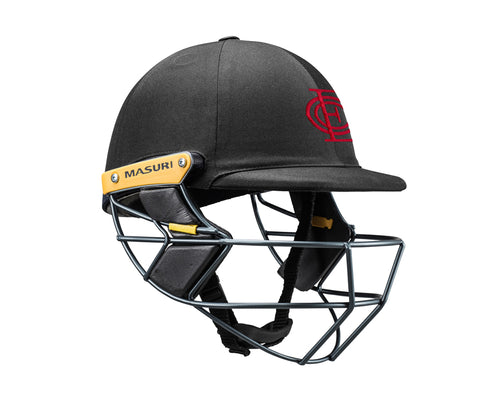 Masuri Original Series MK2 SENIOR Test Helmet with Steel Grille - Essendon CC