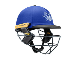 Masuri Original Series MK2 SENIOR Test Helmet with Steel Grille - Greenvale Kangaroos CC