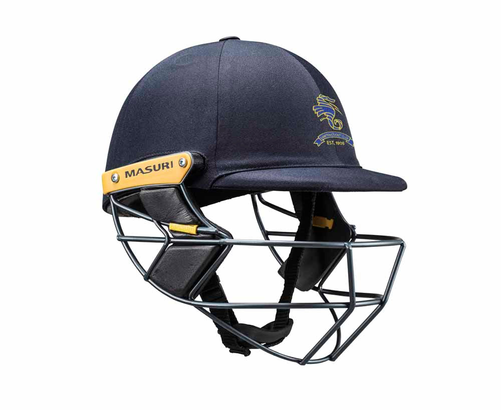 Masuri Original Series MK2 SENIOR Test Helmet with Steel Grille - Hampton CC