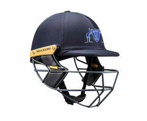 Masuri Original Series MK2 SENIOR Test Helmet with Steel Grille - Mt Waverley CC