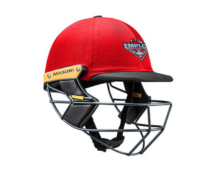 Masuri Original Series MK2 SENIOR Test Helmet with Steel Grille - Essendon Maribyrnong Park Ladies CC