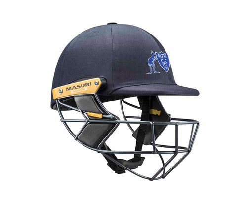 Masuri Original Series MK2 SENIOR Test Helmet with Titanium Grille - Mt Waverley CC