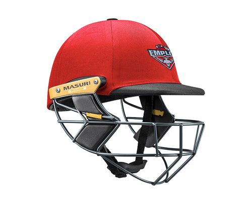 Masuri Original Series MK2 SENIOR Test Helmet with Titanium Grille - Essendon Maribyrnong Park Ladies CC