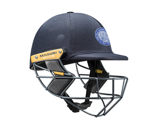 Masuri Original Series MK2 SENIOR Test Helmet with Titanium Grille - Caulfield Grammarians/NCG CC