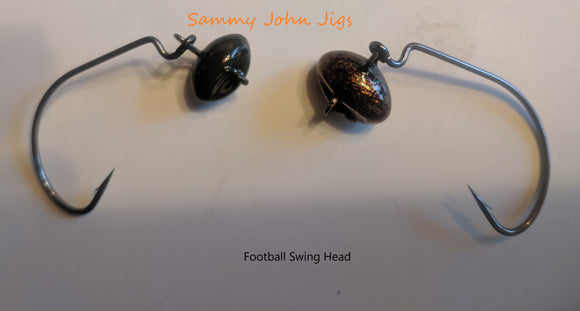 Football Head Swing Jig