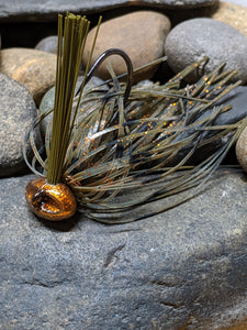 Copper Craw Stand Up Football Jig w/Keeper