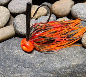 Fire Craw Stand Up Football Jig w/Keeper