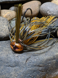 Hell Bound Craw Stand Up Football Jig w/Keeper