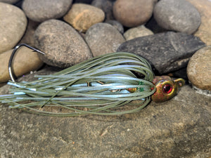 Watermelon Magic Swing Tail Jig