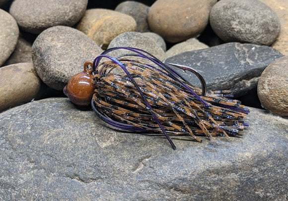 Chunky Peanut Butter  Pro Series Round Head Finesse Jig