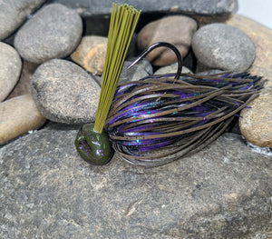 Prostaff GVH Purple Haze Stand Up Football Jig w/Keeper