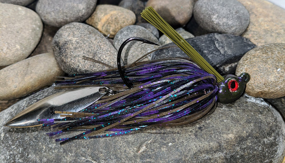 GVH Purple Haze Flash Tail Swim Jig