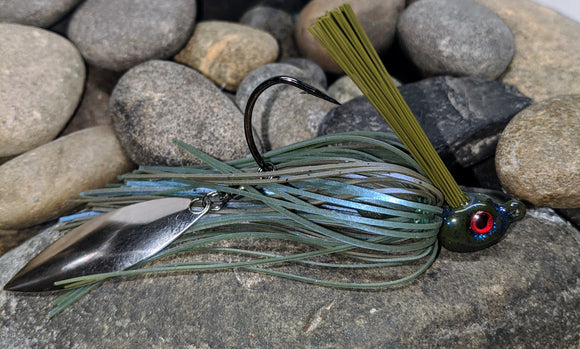 GVH Smallmouth Blues Flash Tail Swim Jig