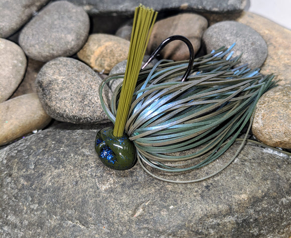 Prostaff GVH Smallmouth Blues Stand Up Football Jig w/Keeper