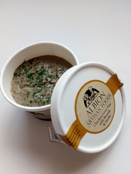 Chicken Liver Pâté with Brandy & Herbs - albionartisanfoods