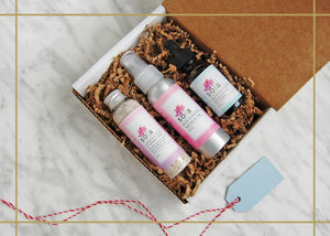 Happy Face Gift Set: Lavender & Adzuki