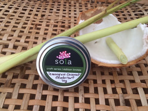 Craft Series - Lemongrass Coconut Deodorant