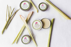 Lemongrass Deodorant For Sensitive Skin