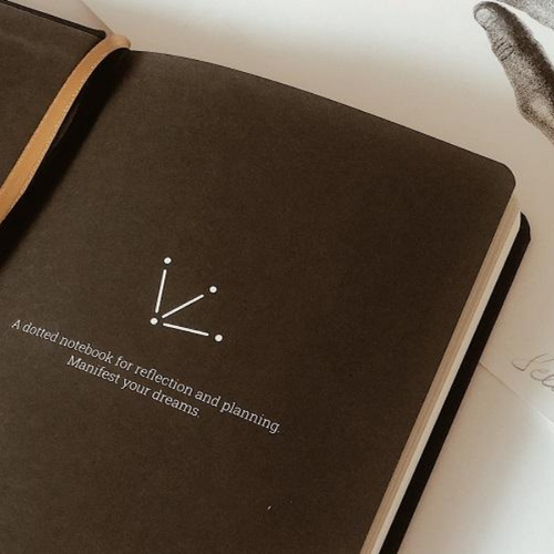 Vertellis Journeys - Dotted Notebook