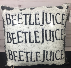 Beetlejuice x3 Mermaid Pillow