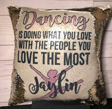 Dancing Quote Mermaid Pillow