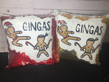 Ginjas / Gingerbread Ninjas Christmas Mermaid Pillow