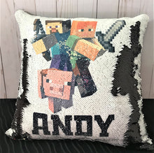 Minecraft Mermaid Pillow