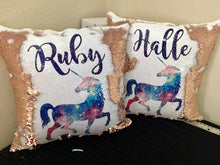 Galaxy Unicorn Custom Mermaid Pillow U13