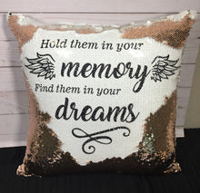 Hold Them in Your Memory Mermaid Pillow