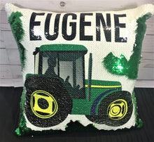 Tractor- John Deere Inspired Mermaid Pillow