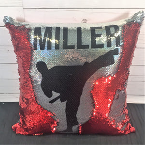 Karate- Male- Martial Arts Mermaid Pillow