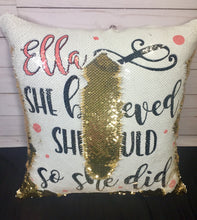 She Believed She Could So She Did Custom Mermaid Pillow