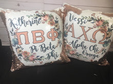 Sorority Custom Mermaid Pillow