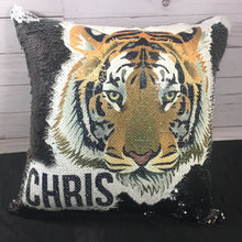Tiger Mermaid Pillow