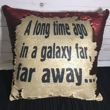 Star Wars Inspired Prologue Mermaid Pillow