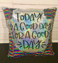 A Good Day for a Good Day Mermaid Pillow