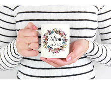 New Mom/Grandma Custom Coffee Mug