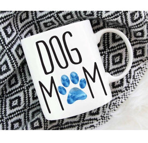 Dog Mom or Cat Mom Coffee Mug