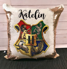 Hogwarts Crest Mermaid Pillow- Harry Potter Inspired