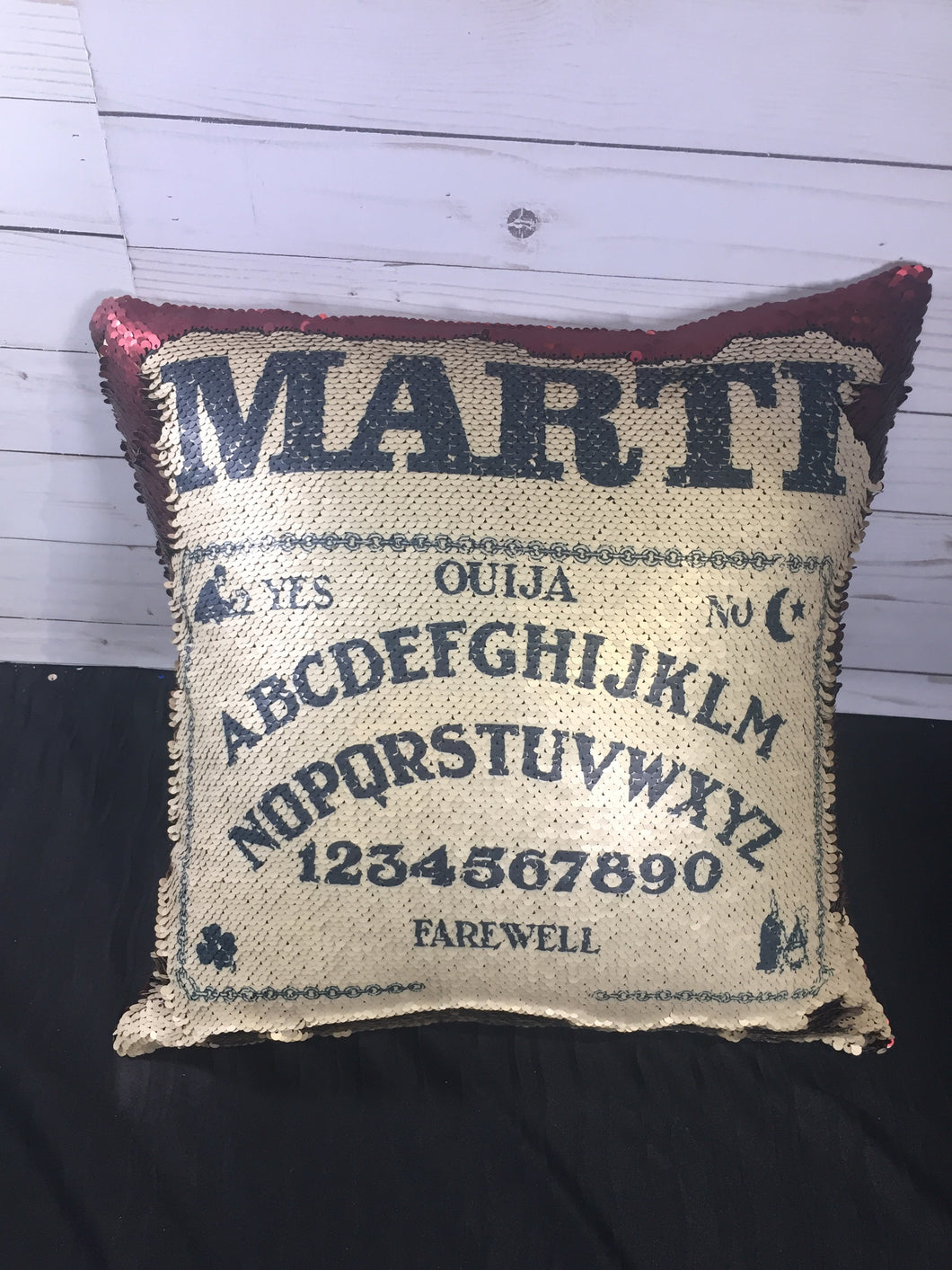 Ouija Board Mermaid Pillow