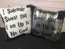 I Solemnly Swear Harry Potter Inspired Mermaid Pillow