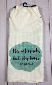 Harry Potter Inspired Dish Towels