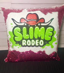 Limited Supply! Slime Rodeo Mermaid Pillow