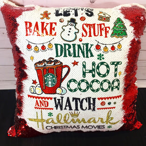Hallmark Movies Christmas Mermaid Pillow