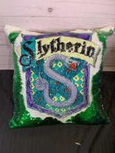 Full Color Harry Potter House Crest Mermaid Pillows