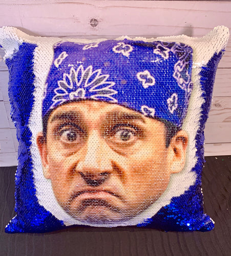 Prison Mike - The Office Themed Mermaid Pillow