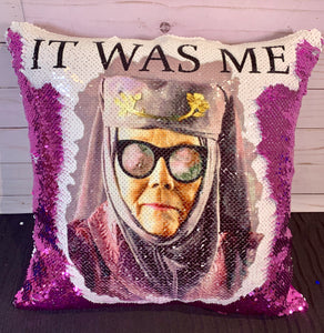 """It Was Me"" Game of Thrones Inspired Mermaid Pillow"