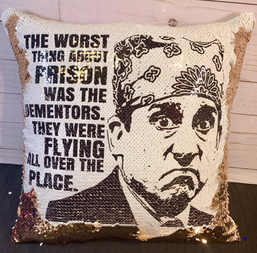 Dementors- Prison Mike - The Office Themed Mermaid Pillow